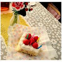 *次女5歳*米粉で作ったショートケーキ