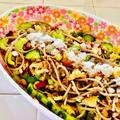 なめ茸で味付け♪蕎麦の和風シーザーサラダ♡ by Lau Ainaさん