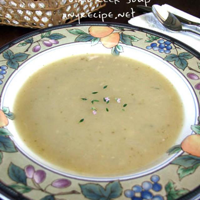 Leekとジャガイモのスープ(2)