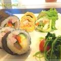 節分巻き寿司晩御飯☆恵方巻き3種