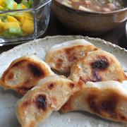 ひよこ豆とキャベツのスープ/ 84歳叔母の畑