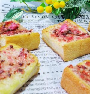 ♡お花見やピクニックに♡桜ラスク
