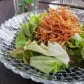 ダイエットにオススメ!カリカリえのきの梅サラダ