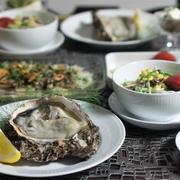 鰹のカルパッチョや岩牡蠣の日♫