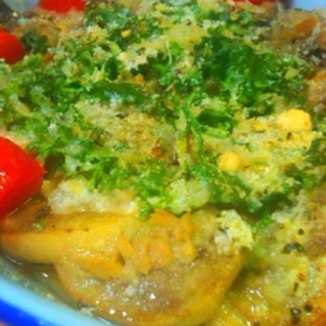 出し巻き玉子とマッシュルームのグリルと金目鯛の煮付け