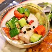 蛸と野菜のマリネ