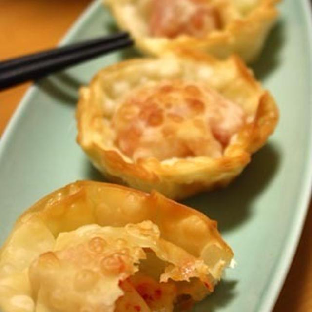 簡単おつまみ♪「餅キムチーズの円盤揚げ」揚げ焼きOK^^