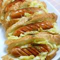 野菜室スッキリ!使い切りで作り置きスパイシークミンキャベツと簡単ミニホットドッグ。 by akkiさん