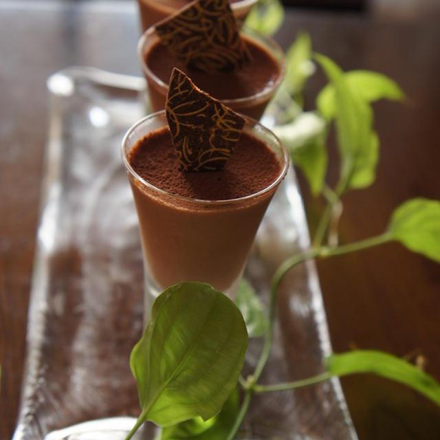簡単チョコムースのレシピ