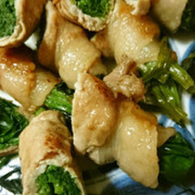 生姜焼きの肉巻き