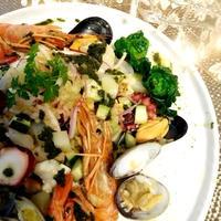 イタリアの魚介サラダ インサラータ・ディ・マーレ