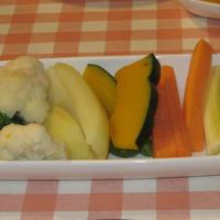 野菜のわさびオイルソース