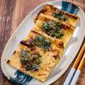 パパッと副菜二品「カリカリ薄揚げの梅じゃこ大葉」&「海老と青ねぎの卵炒め」