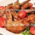 フライパンdeコク旨☆鶏手羽先の照り焼き by ジャカランダさん