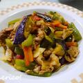 ごはんがすすむ!たっぷり夏野菜と豚肉の味噌炒め。