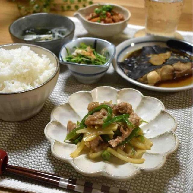 【レシピ】じゃがいもde青椒肉絲✳︎レンジ調理✳︎簡単✳︎作り置き✳︎お弁当のおかず