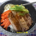 ☆美味安心XO醤焼きのタレをつかってアレンジ石焼ビビンバ☆
