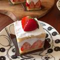 材料3つで作る♪いちごのショートケーキ