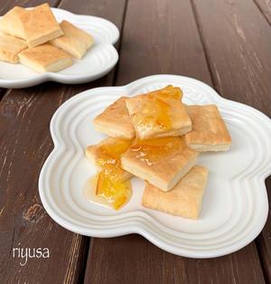 【トースターで簡単】材料3つ!!フルーツジャムのクッキー