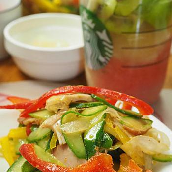 叉焼サラダ
