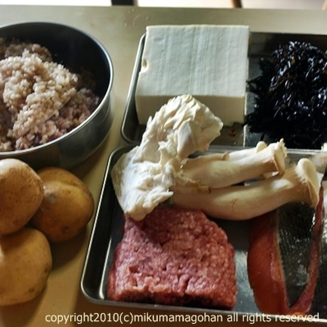 手作りドッグフードレシピ【ひじきと鮭】
