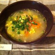 ほっこり。スタミナ白菜スープ