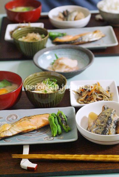 夕食は20分で用意♪常備菜さまさま〜