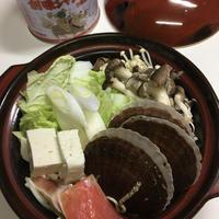 My夜ごはんは、石狩鍋風☆1人鍋です!