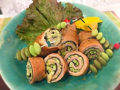 【レシピ】軽量いらずの枝豆豚バラロール