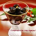 おせちに艶々漆黒の黒豆♥圧力鍋で簡単柔らか