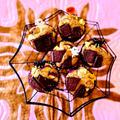サツマイモとチョコのマフィン♡黒蜜かけても優しい甘さ♪ by Lau Ainaさん