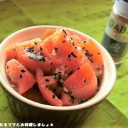 簡単★トマトのクミンごま和え