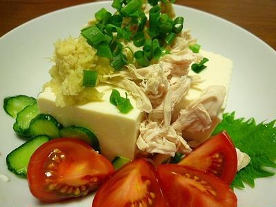 夏日の夜は  豆腐~~~~~