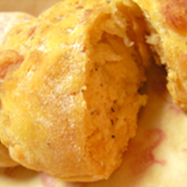 手抜き@トマトとチーズのハーブパン