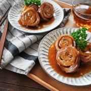 レンジで豚バラチャーシュー(改良版)とレンジカスタードプリン