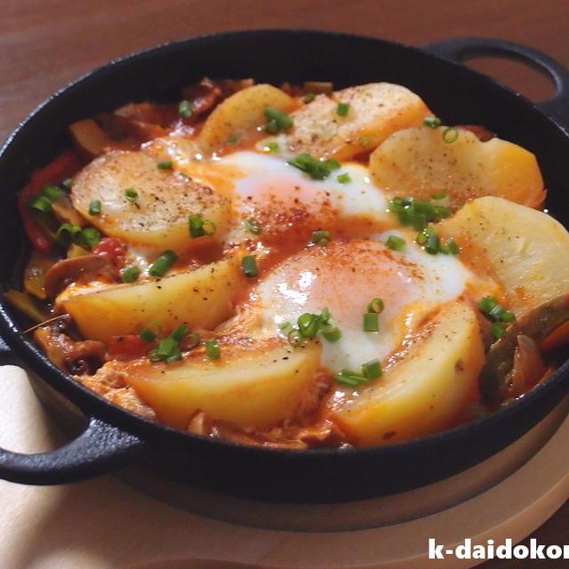 簡単!鶏肉のトマト煮込み~味の決め手はマッサ | 南部鉄器 ニューラウンド万能鍋