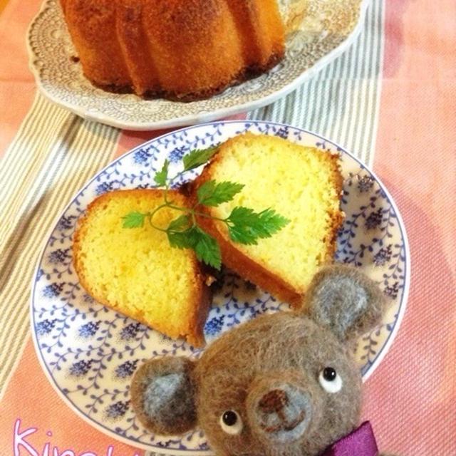 オレンジじゅわぁ〜☆オレンジバターケーキ