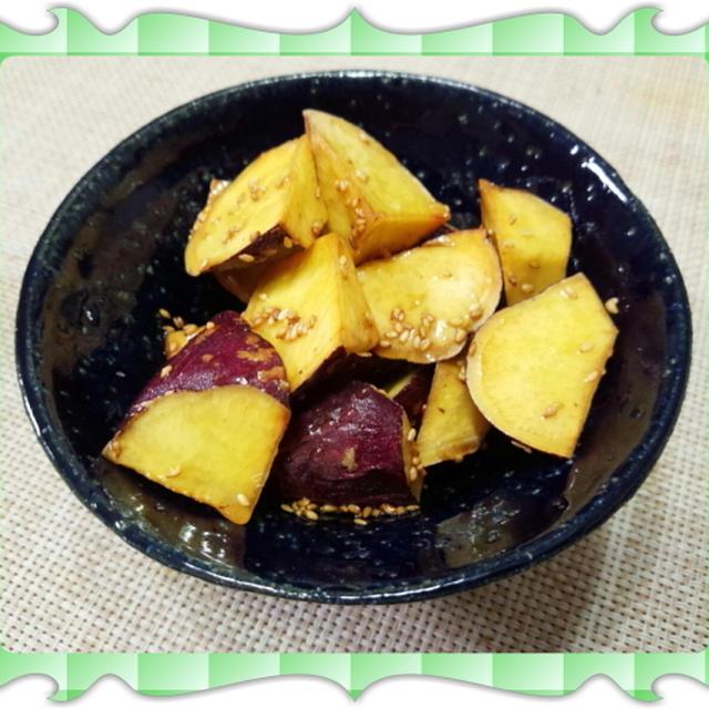 蜂蜜和えの大学芋(レシピ付)