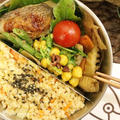 ひよこ豆のカレーソイマヨサラダとうまソースで白身魚のトースト焼き by 安藤千英/料理家 さん