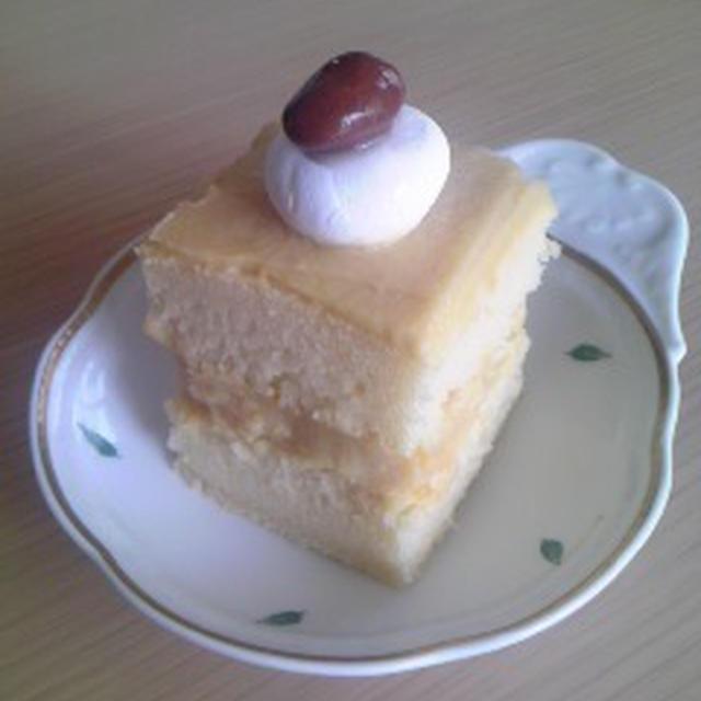 ひよこ豆の米粉ショートケーキ(小麦・卵・乳・大豆不使用)