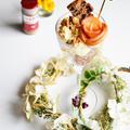 白雪姫のモーニングパフェ シナモンアップルとマスカルポーネにヌテラ by 青山 金魚さん