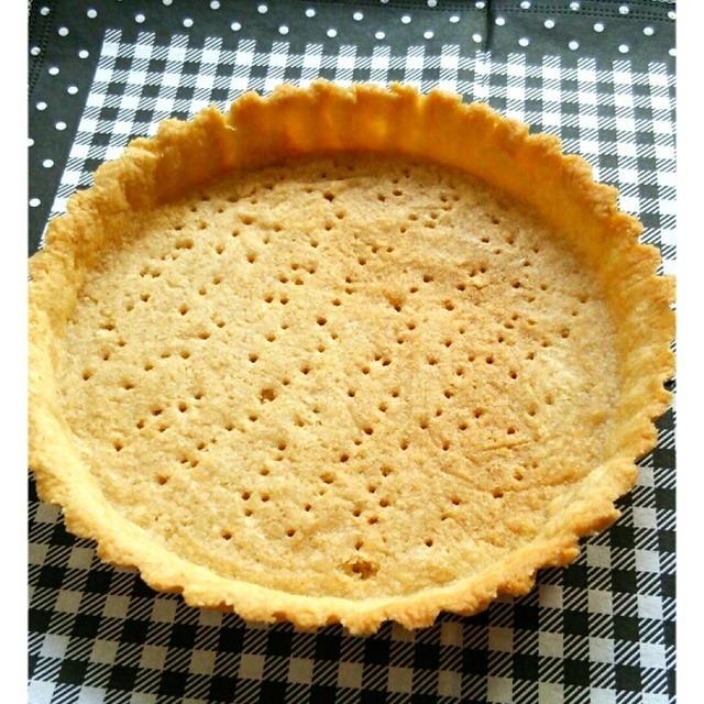 パン粉使用☆卵なしで☆簡単タルト台