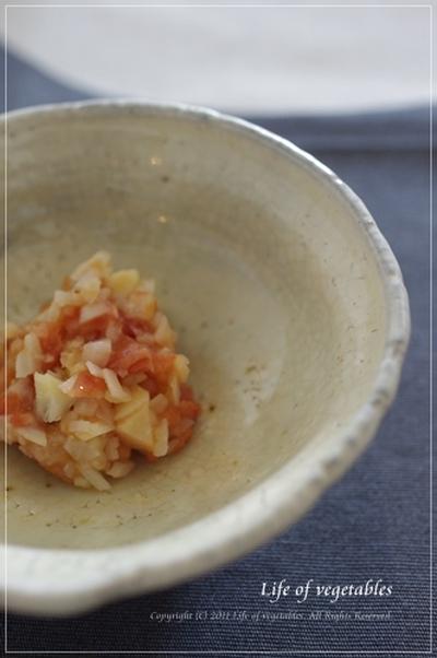 ちょこんとご飯にのせて☆筍の梅肉和え