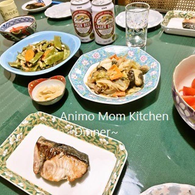 キャベツ1/2玉ペロリ♪茄子とキャベツと豚肉の中華味噌炒め。