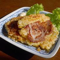 薄切り肉とご飯で、一品(^^)