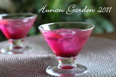 赤紫蘇ジュース レシピ