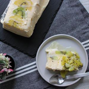 アイスとケーキの中間?混ぜて冷やすだけの「セミフレッド」作りにトライ♪