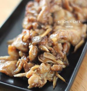 舞茸と豚肉の照り焼き