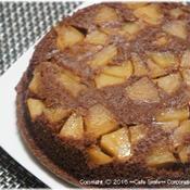 *シナモン香るリンゴ入りチョコレートケーキ*