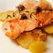 鶏むね肉のレモンバターソース by kayさん